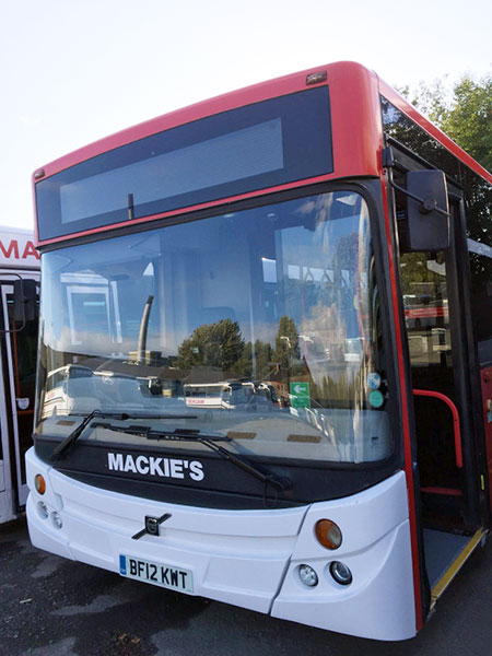 Bus services in Sterling, Scotland