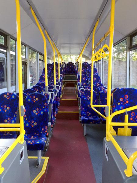 Bus services in Clackmannanshire