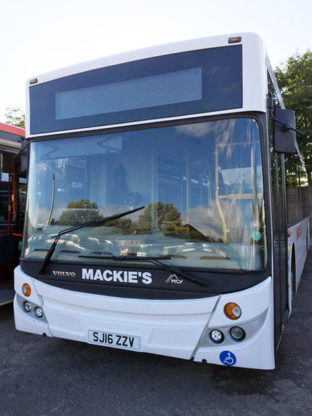 Bus service Alloa to Sterling