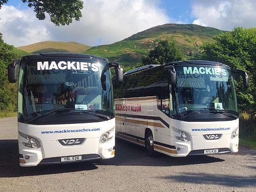 Charter a coach in Scotland