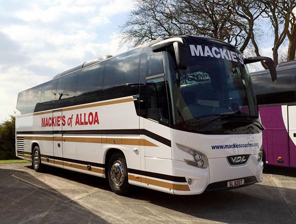 Mackie's Coach Hire, Alloa