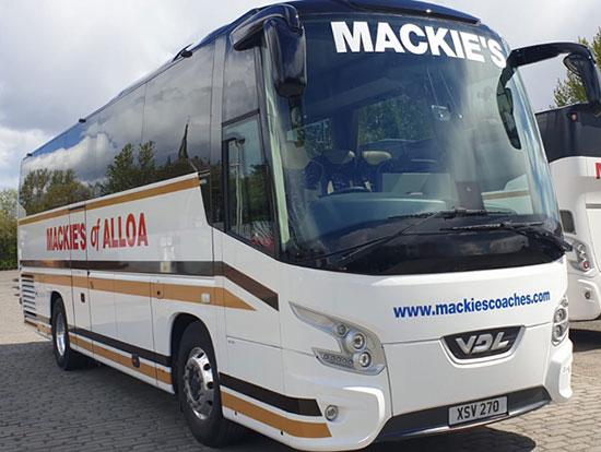 Modern coach fleet
