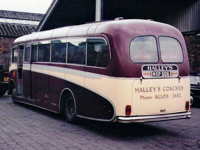 1950's coach -Mackies