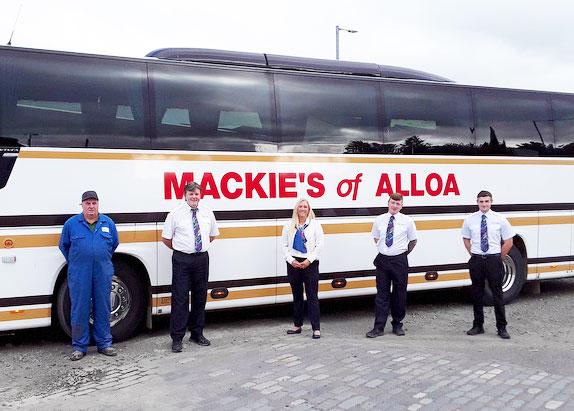 Some of Mackie's friendly staff