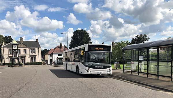 Tilly - Alloa bus service